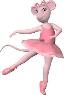 Angelina Ballerina - Kit Completo com molduras para convites, rótulos para guloseimas, lembrancinhas e imagens!