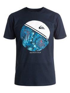 quiksilver, Classic Free Wheelin - T-Shirt, NAVY BLAZER (byj0)