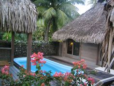 Pool Bungalow Hotel Bora Bora-- most romantic place to spend your 20th anniversary!