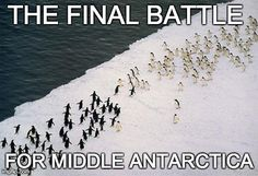 The Final Battle for Middle Antarctica