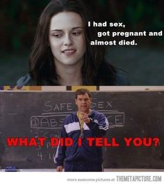 Bella/ Mean Girls.