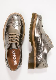 Bronx Derbies - gold - ZALANDO.FR