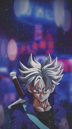 Ultra Instinct Trunks By Anime Manga, Anime Art, Dragon Ball Image, Animes Wallpapers, Cartoon Art, Anime Characters, Character Art, Trunks Dbz, Iphone