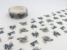 Butterfly tape 10M dancing butterfly washi tape by TapesKingdom