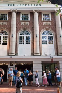 The Jefferson Theater on the downtown mall has some of the biggest names and best shows in Charlottesville!