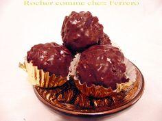 Recette Dessert : Rocher comme chez ferrero par GateauGaga