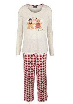 Clothing at Tesco | F&F Dream Gingerbread Man Pyjamas