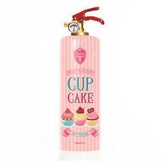 Safe-T Fire Extinguisher, Cupcake