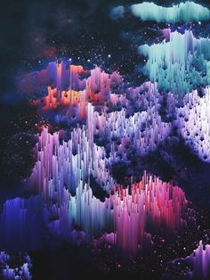 I create worlds. I make rain, skyscrapers and nebulas appear on my screen, and I…