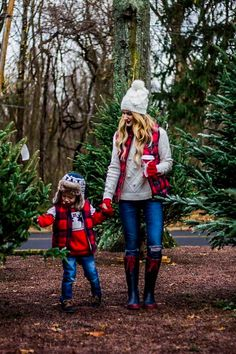 Mother and Son holiday Outfits - Family Outfits - Christmas Pictures Outfits, Cute Christmas Outfits, Family Christmas Pictures, Family Picture Outfits, Holiday Pictures, Holiday Outfits, Christmas Sweaters, Party Outfits, Summer Outfits