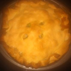 My chicken pot pie!!!!!