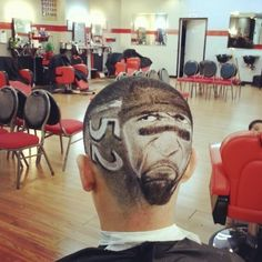 Ravens fans continue to impress with their haircuts