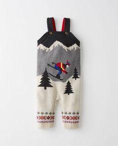 Skiers Sweater Overalls In Cotton & Merino