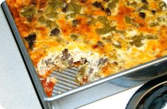 Chile Rellenos Casserole on jessfuel.com