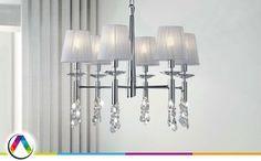 Limpiar lámparas con lágrimas de cristal - La Casa de la Lámpara