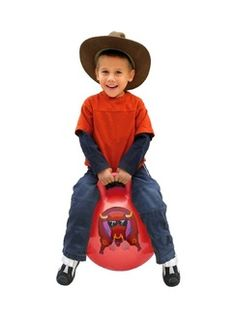 ride on bull toy that bounces