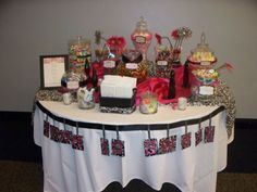 Another DIY candy bar, I love this idea and will definitely be doing this for the reception!