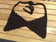 black bikini top ,swimsuit crochet bikini top Festival top women girls bikini tops beachwear summer 2014 senoaccessory on Etsy, 25,00$