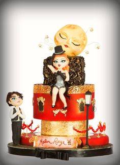Moulin Rouge by Lovely Cakes