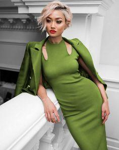 Miki Green Bandage Dress – Catwalk Connection