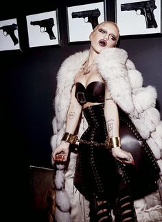 awesome V Magazine #89 Summer 2014 | Brooke Candy by Steven Klein  [Editorial]