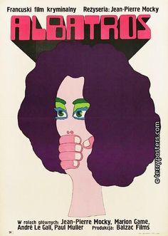 Polish Poster for LOVE HATE (L'Albatros) 1973