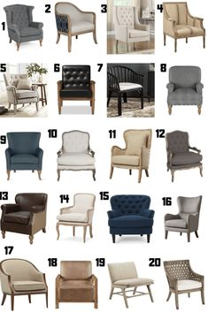 These are the 20 best farmhouse style accent chairs for your home. If you you are in the market for accent chairs and you love the farmhouse stye, you need to check out this list of the 20 most stylish farmhouse style accents chairs.