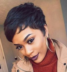 how i style my hair gorgeous ideas about pixie cut for black 2671 | 8bbff80449b26491fee2671da65a1a2d