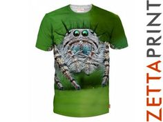 PAJĄK SPIDER Koszulka TShirt Full Print AMO_RD0031