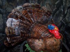 Turkey hunting Grooms Cake | Wild turkey — Birthday Cakes