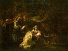 The Circumcision (1661) by Rembrandt van Rijn (National Gallery of Art, Washington, D.C.) - Dutch Golden Age