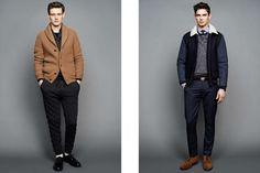 J.Crew Autumn/Winter 2015 Men's Lookbook | FashionBeans.com