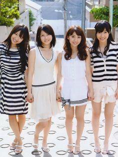 Kitarie, Yuihan, Yuko and Sasshi #NotYet #AKB48