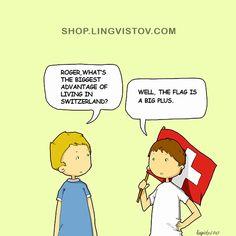 Shop.lingvistov.com - #illustrations, #doodles, #joke, #humor, #cartoon, #cute, #funny, #comics, #greeting #cards, #joke