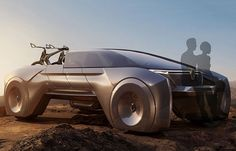 architecture student rethinks the pick-up truck with radical renault concept