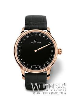 Buy this Jaquet Droz Grande Heure Black Enamel here at Exquisite Timepieces, we are Authorized Dealers Swatch, Gents Watches, Sharp Dressed Man, Luxury Watches For Men, Black Enamel, Red Gold, Accessories, Grande, Dream Watches