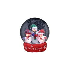 Inflatable Christmas Snow Globes ❤ liked on Polyvore featuring home, home decor, holiday decorations, xmas snow globes, christmas holiday decor, christmas home decor, christmas snow globes and christmas holiday decorations