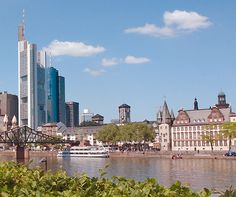 A luxury guide to Frankfurt  When people think of Frankfurt, the first thing that usually comes to mind is the city's skyscraper-crowned skyline – a testament to its status as a European centre for business and finance  http://www.aluxurytravelblog.com/2012/12/19/a-luxury-guide-to-frankfurt/  #frankfurt #germany #skyscrapper #luxurytravel