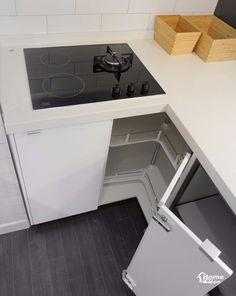 이케아 주방가구가 설치 시공된 대전 도룡동 포엠 주상복합 30평대 아파트 인테리어 주방 리모델링안녕하세... Open Kitchen And Living Room, Kitchen Room Design, Kitchen Cabinet Design, Interior Design Kitchen, Kitchen Decor, Corner Pantry Cabinet, Kitchen Measurements, Small Space Interior Design, Kitchen Upgrades