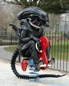 Aliens need some fun too