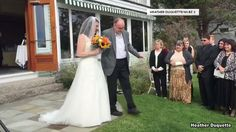 The moment a bride walks down the aisle is usually special for both father and daughter. But that milestone wasn't slated to happen for Ralph and Heather Duquette.