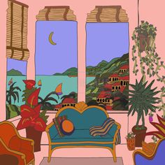 My Favorite Place Illustration by Lollie Ortiz