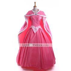 Schneewittchen-Prinzessin Aurora Kleid + Mantel Cosplay - EUR € 119.99