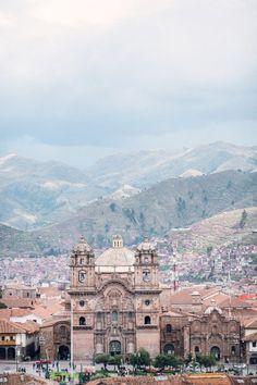 Buildings of Cusco Peru | photography by http://www.brandonkidd.net/