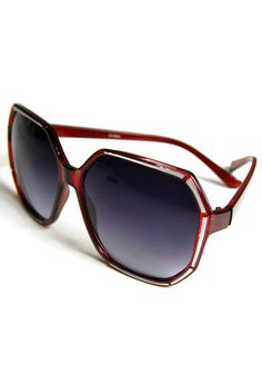 Rodan Sunglasses: Cherry - $9.99 : Spotted Moth, Chic and sweet clothing and accessories for women