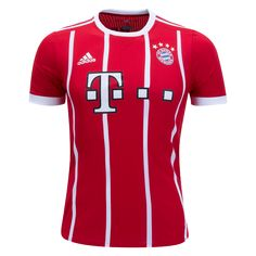 ⚡️ NEW ⚡️  Bayern Munich 2017/18 Authentic Home Jersey from adidas. Available now at WorldSoccerShop.com