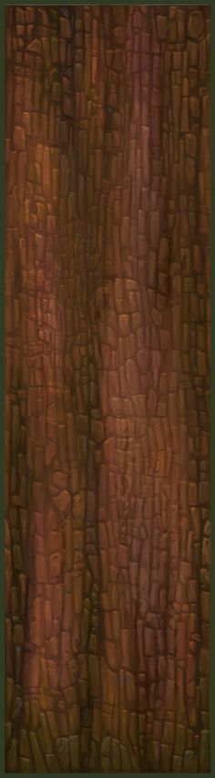 Painted Low Poly Pine Trees - Polycount Forum
