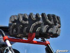 Polaris RZR XP 1000 Spare Tire Carrier - UTV Gear Polaris Rzr 1000 Turbo, Rzr Turbo, Polaris Rzr Accessories, Utv Accessories, Polaris Off Road, Polaris Atv, Side By Side Accessories, Bug Out Vehicle, Polaris Ranger