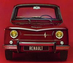 Renault R8. Some of the old Renault cars are now classic and rightly so.