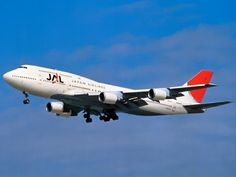 JAL BOEING 747-400D